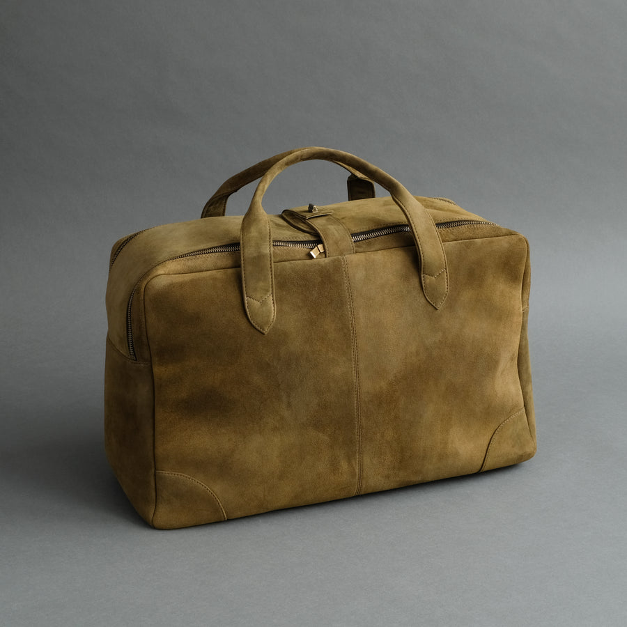 Weekender From Forest Green Goatskin Suede