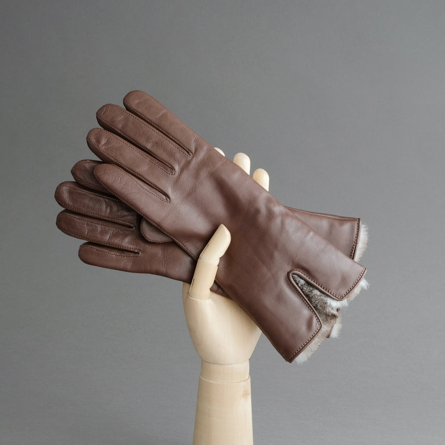 Ladies Gloves from Hair Sheep Nappa lined with Cashmere and Orylag