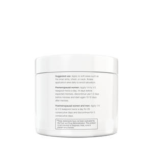 Supplement Spot - Natural Progesterone Cream - Suggested Use