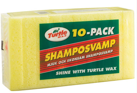 Turtle Wax Shamposvamp 10stk