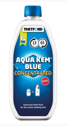 Sanitærvæske Thetford Aqua Kem Blue Concentrated 780ml