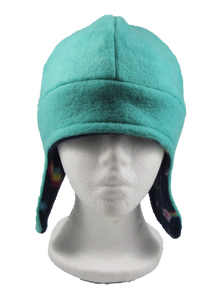 Reversible Aqua/Space Hat