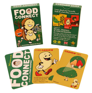Food Connect educational card games