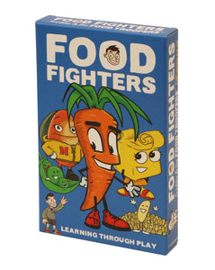 Food Fighters educational card game