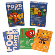 Load image into Gallery viewer, Food Fighters educational card game