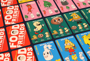 Food Friends educational card game