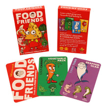 Load image into Gallery viewer, Food Friends educational card game