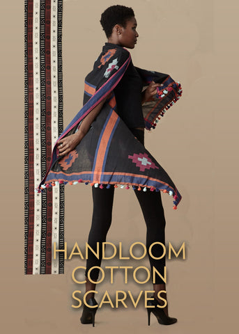 Handloom Cotton Scarves