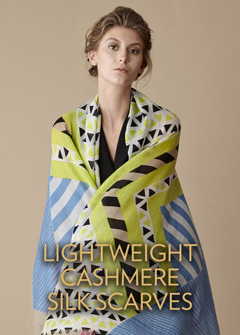 Lightweight Cashmere Silk Scarves
