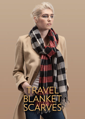 Travel Blanket Scarves