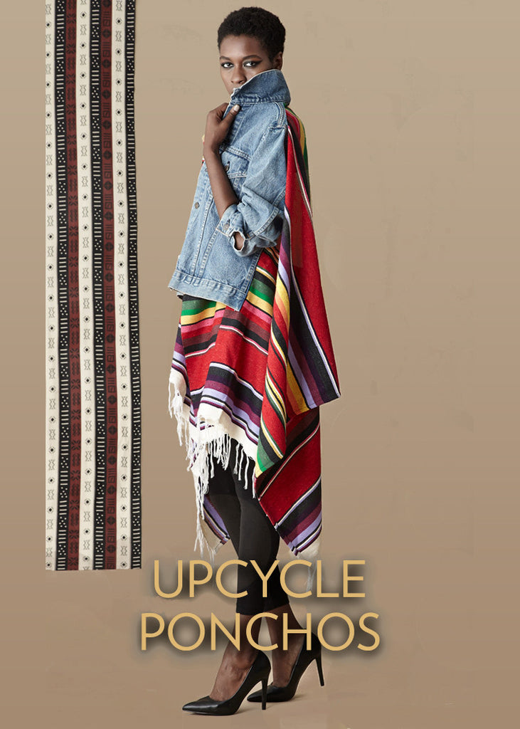 Upcycle Ponchos