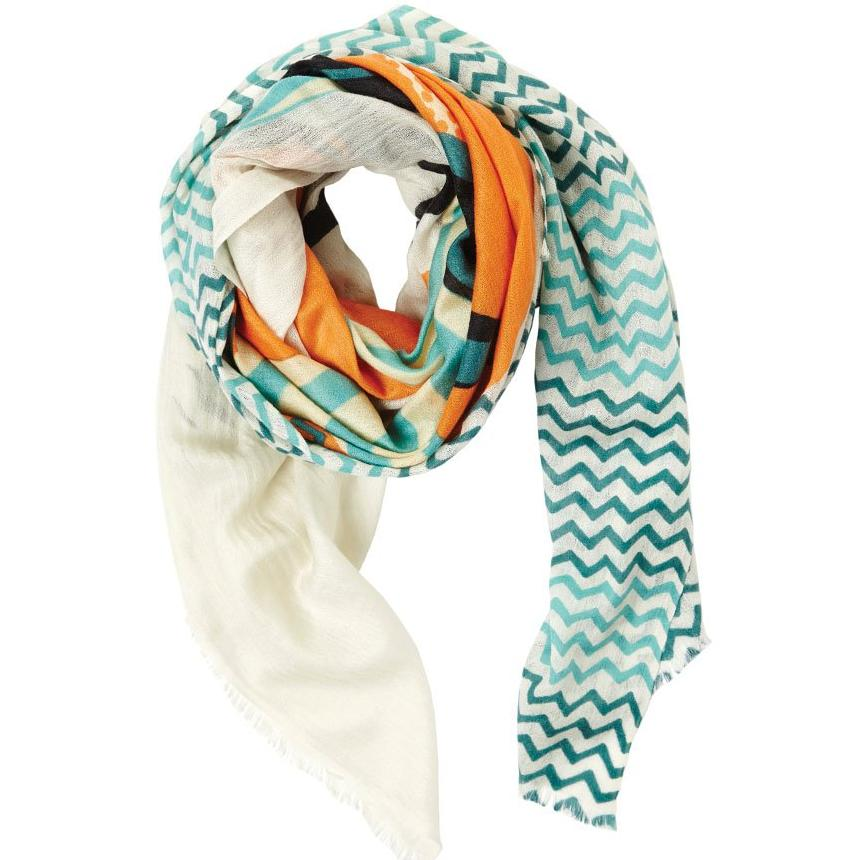 Boat Spring Cashmere Silk Oversize Scarf