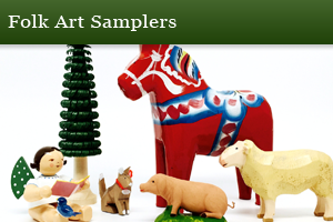 Folk Art Samplers