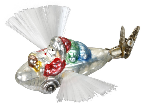 Gifts Delivery / Santa / Spun Glass Wings