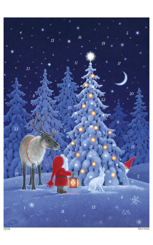 Forest Lights - Advent Calendar / Eva Melhuish