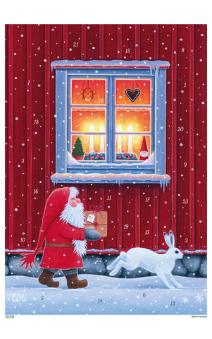 Christmas Delivery - Advent Calendar / Eva Melhuish