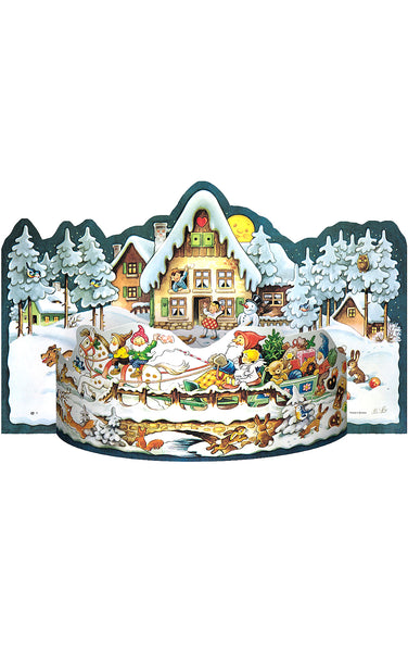 Santa's Christmas Village - Advent Calendar / 3 Dimensional