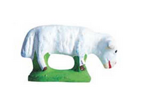 Grazing Sheep - Mouton broutant - Size #1 / Cricket