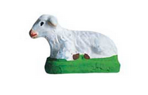 Lying Sheep - Mouton couché - Size #1 / Cricket