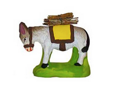 Donkey with Bundles of Sticks - Âne chargé de fagots - Size #1 / Cricket - New 2008