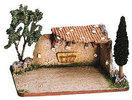 Stable in Ruins - Etable en ruine no. 1 - Size # 1/ Cricket