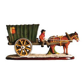 Gypsy Caravan with Horse - Roulotte de gitans - Size #1 / Cricket