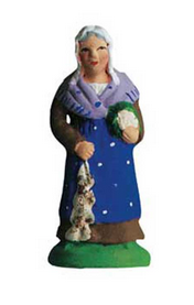 Woman with Cabbage and Garlic - Femme au chou et a l''ail - Size #1 / Cricket