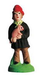 Man with a Pig - Homme au cochon - Size #1 / Cricket