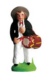 Man with a Drum - Tambourinaire - Size #1 / Cricket