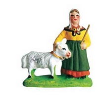 Woman with a Goat - Femme à la chevre - Size #1 / Cricket