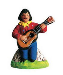 Gypsy with Guitar -– Gitan à la guitare - Size #1 / Cricket