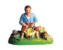 Vincent the Basketmaker - Vincent le vannier - Size #1 / Cricket