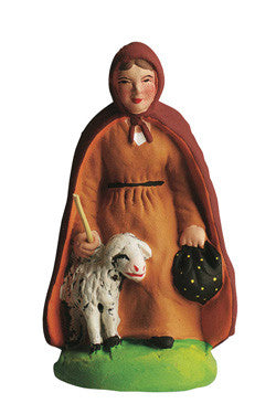 Shepherdess with Cape - Bergère à la Cape - Size #2 / Elite