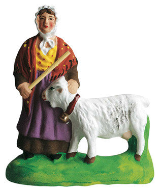 Woman with a Goat - Femme a la chèvre - Size #2 / Elite