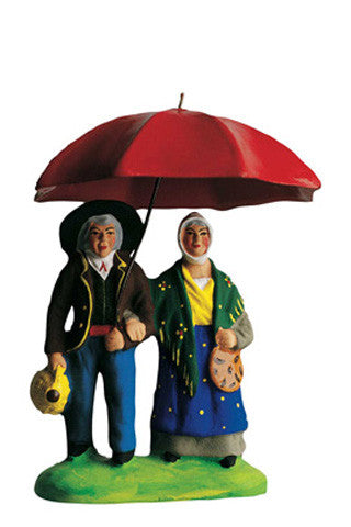 Couple under Umbrella  - Couple Sous le Parapluie - Size #2 / Elite