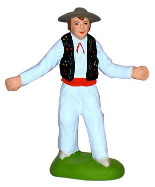 Male Farandole Dancer with Hat - Farandole (Homme) - Size #2 / Elite