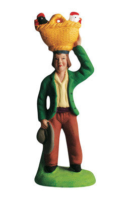 Man with Chickens - Homme aux Poules - Size #2 / Elite
