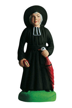 Parish Priest with Umbrella - Monsieur le curé - Size # 2 / Elite