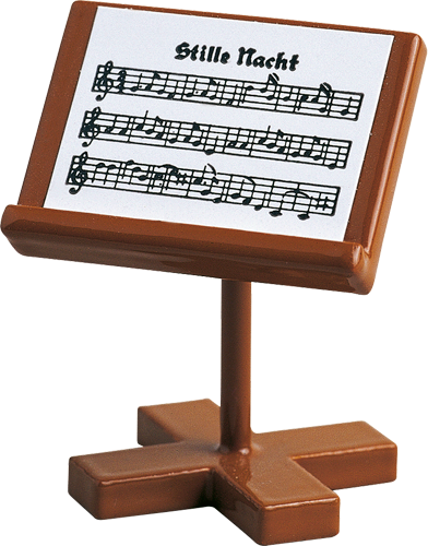 "Music Stand for Seated Orchestra Musician Angels - 1-1/2"" tall"