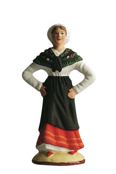 Female Dancer from Catalan - Danseuse Catalan - Size #3 / Grande