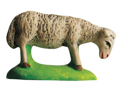 Grazing sheep - Mouton broutant - Size #3 / Grande