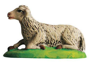 Lying sheep - Mouton couché - Size #3 / Grande