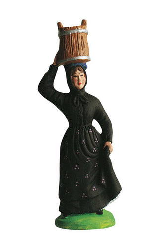 Corsican Woman with Bucket - Corse au baquet - Size #3 / Grande