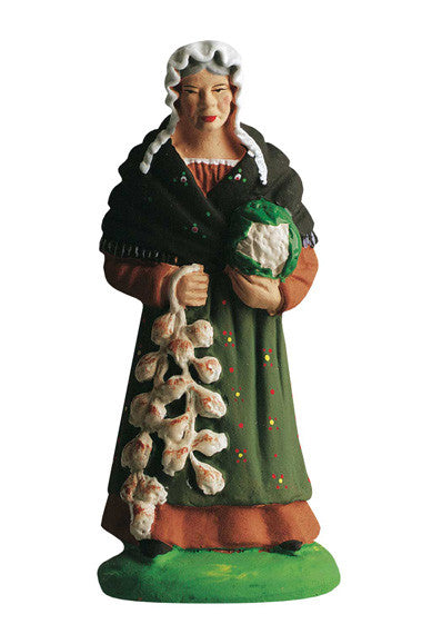 Woman with Cabbage and Garlic - Femme au chou et a l''ail - Size #3 / Grande