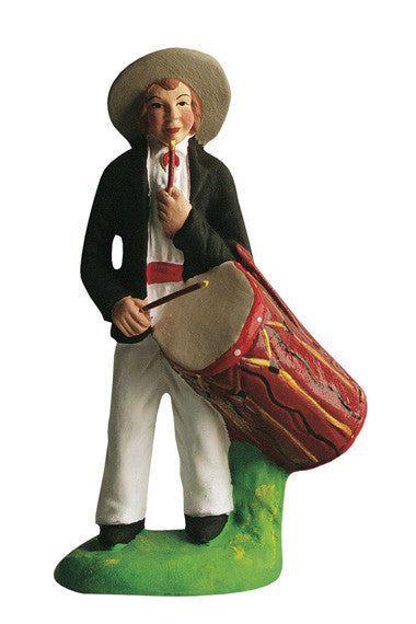 Man with a Drum - Tambourinaire - Size #3 / Grande