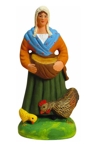 Farmer's Wife with Grain - Fermière au grain - Size #3 / Grande - New 2003