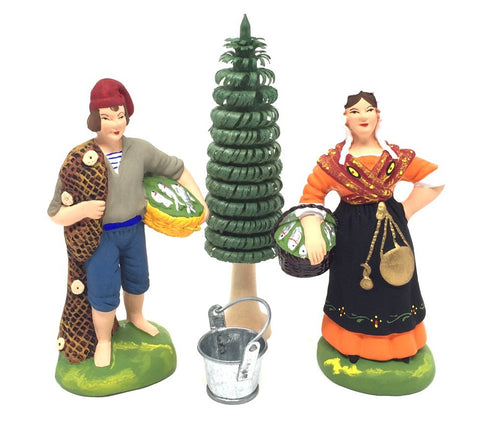 Fisherman and the Fishwife Gift Set - Size #3 / Grande