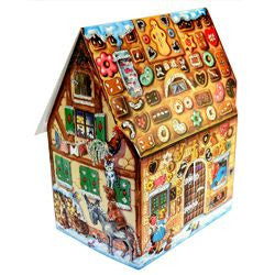 Gingerbread House Fairy Tale - Advent Calendar / 3 Dimensional