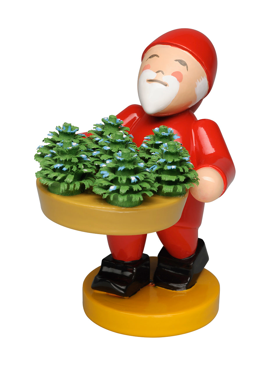 Gnome / Fairy / Elf with Small Plants / Seedlings - New 2018