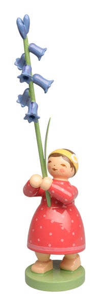 Girl with Wild Hyacinth / New March 2021
